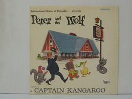 Peter and the wolf, narrated by Captain Kangaroo, lp record 1968 - $19.99
