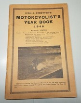 1948 MOTORCYCLIST'S ANNUAL YEAR BOOK RARE IVAN J STRETTEN'S MOTORCYCLE O... - $74.79