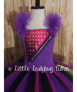 Mal Descendants Tutu Dress, Descendants 2 Costume, Mal Costume, Descendants 2  - $40.00 - $50.00