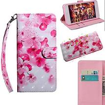 XYX Wallet Phone Case for Sony Xperia XA2,[Wrist Strap] Painted Design P... - $9.88
