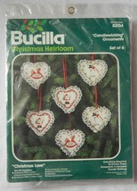 NEW Bucilla Christmas Heirloom Candlewicking Ornaments Christmas Love 82... - $14.99
