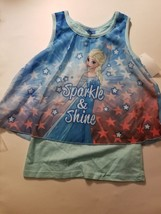 Disney Frozen  Girls Top Tank Size S 6/6X  NWT - $10.49