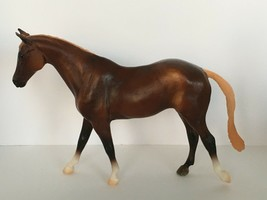 Classic Might Tango Model #61058 Breyer Circle Show Jumping Horse Chestnut - $20.65