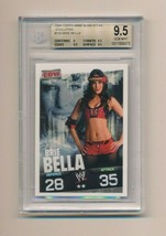 2009 Topps WWE Slam Attax RC Rookie Evolution Brie Bella BGS 9.5 - $120.00