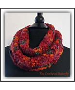 Boucle Delight Cowl, crochet cowl, women's fashion, infinity scarf, colo... - $12.99