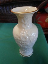 "Beautiful Vintage LENOX ""Ming Blossom"" VASE Hand Decorated USA - $14.44"