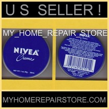 FREE S&H! YOU GET 2! NIVEA CREME SKIN MOISTURIZER TIN PURSE TRAVEL SIZE ... - $7.91