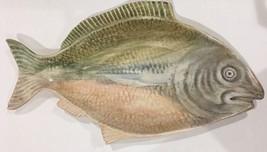 "Chappells Rare  Porcelain Serving Platter   21""L (Fish Shape) - ₨19,654.25 INR"