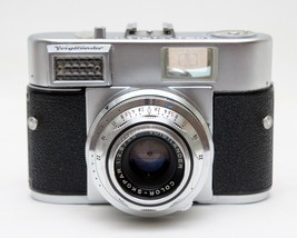 Vintage Voightlander Vitomatic I Color-Skopar 1:2.8/50 Camera With Leath... - $44.55