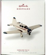 Hallmark 2018 Harlow PJC-2 Airplane 22nd in Sky's the Limit Series Ornament - $8.01