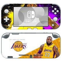 Nintendo Switch Lite Console Vinyl Skins Stickers Decals Lebron James LA Lakers - $9.70