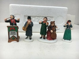 Dept 56 4 Piece Original Chamber Orchestra Figurines Christmas Collectib... - $29.70