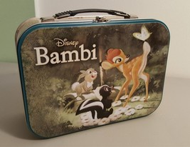 Disney BAMBIE & THUMPER Large Tin Lunch Box Tote by Westland #15861 - $9.89