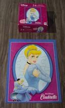 Milton Bradley Walt Disney Princess CINDERELLA JIGSAW PUZZLE 24 Pieces W... - $12.38