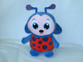 "PEEK A BOO TOYS BLUE & RED LADYBUG PLUSH TOY 10"" - $13.86"