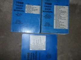 1988 Ford F-150 F250 F-250 350 Bronco Truck Service Shop Repair Manual S... - $287.09