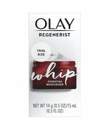 Olay Regenerist Whip Hydrating Moisturizer Trial Size 0.5, 2.1 Fl Oz - $8.14