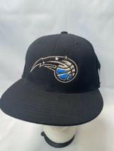 Orlando Magic Adidas NBA 7 3/8 Fitted Hat Black  - $13.85