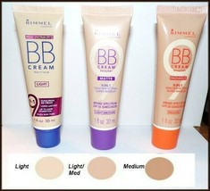 NEW Rimmel 9-in-1 Long Lasting BB Cream Foundation Light- Light/Med - Me... - $8.25