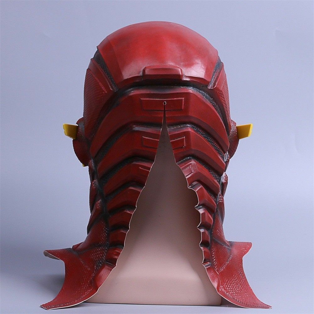 Justice League The Flash Cosplay Mask Full Face Barry Allen Flash Helmet Mask