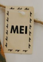 MEI Welcome Snowflake Snowman Wooden Rustic Hanging Sign image 5