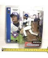 McFarlane Alex Rodriguez MLB Series 2 Texas Rangers New Sealed White Jer... - $15.90