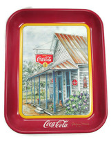 Coca-Cola Tray Thrift Mercantile Jeanne Mack Issued 1994 - $24.75