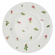 SET OF 4  Royal Albert New Country Roses White Modern  NEW 21cm Salad Plates - $79.19