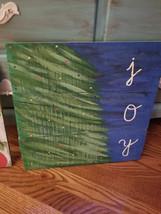 "Handpainted ""Joy"" wooden pallet board sign - $25.00"