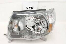 OEM Headlight Head Light Lamp Toyota Tacoma Sport 2005-2011 chip mount LH  - $74.25