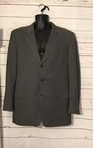 Trussini Mens Grey. lana Wool  Button Blazer Sport Coat Jacket Made in I... - $55.00