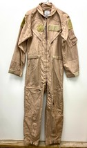New Genuine Us Air Force Tan Nomex Fire Resistant Flight Suit CWU-27/P - 38R. - $123.75