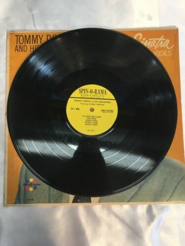 Frank Sinatra & Tommy Dorsey and HIs Orchestra In 5 Vocals Record 1963