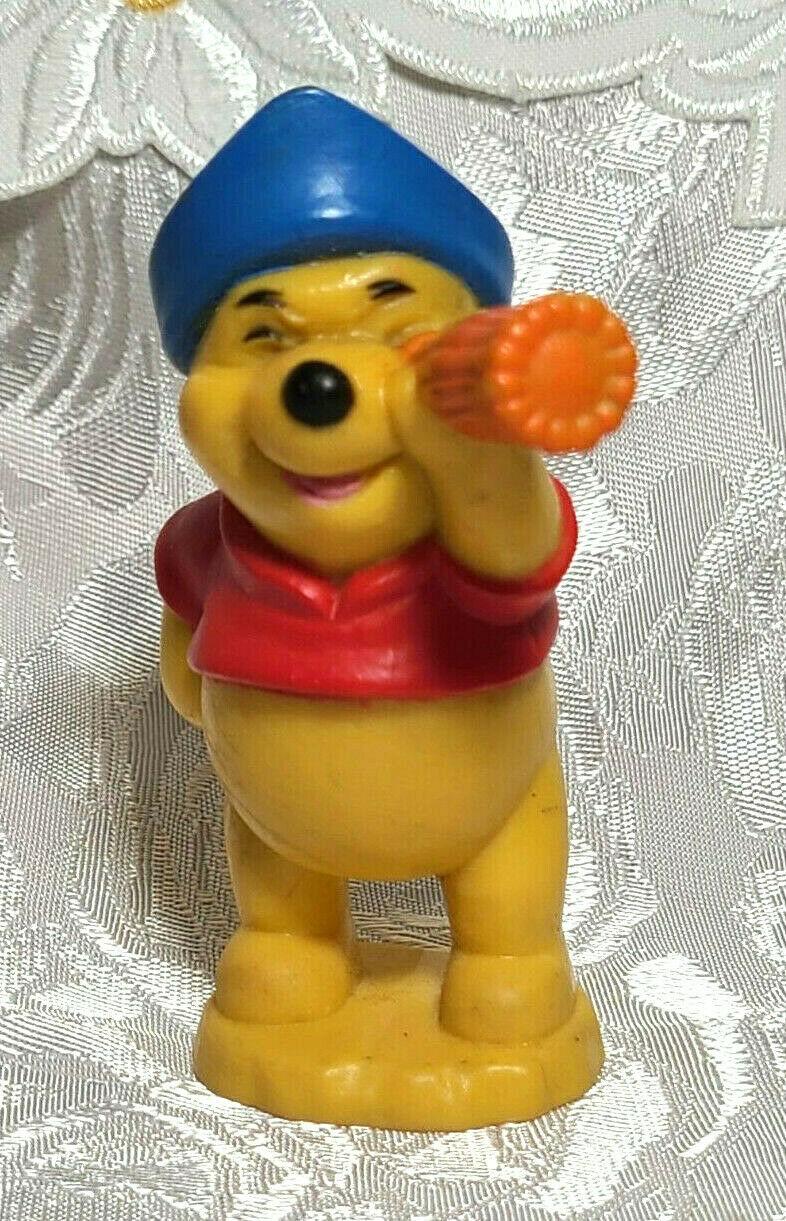 "Disney Winnie The Pooh Pirate Explorer 3.5"" Tall PVC Figure / Cake Topper"