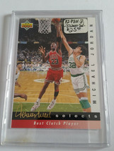 1992-93 Upper Deck Jerry West Selects #JW9 Michael Jordan - Chicago Bulls - $6.60