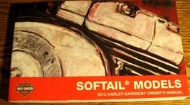2012 Harley Davidson Softail Fat Boy Shrine Blackline Owner's Manual FX FL Xlnt - $29.43