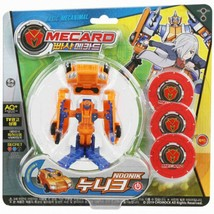 Pasha Mecard Noonik Mecardimal Turning Car Transformation Toy Action Figure image 2