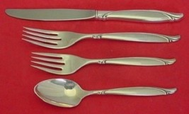 Sentimental By Oneida Sterling Silver Regular Size Place Setting(s) 4pc - $198.55