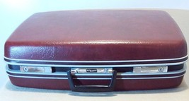 "Vintage SAMSONITE Sentry Burgundy 22"" Suitcase with Keys, Excellent Cond... - $37.36"