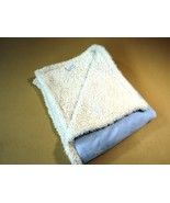 Picoolobambino Baby Blanket 36-in x 36-in Blue/White Fleece 100% Polyester - $13.40