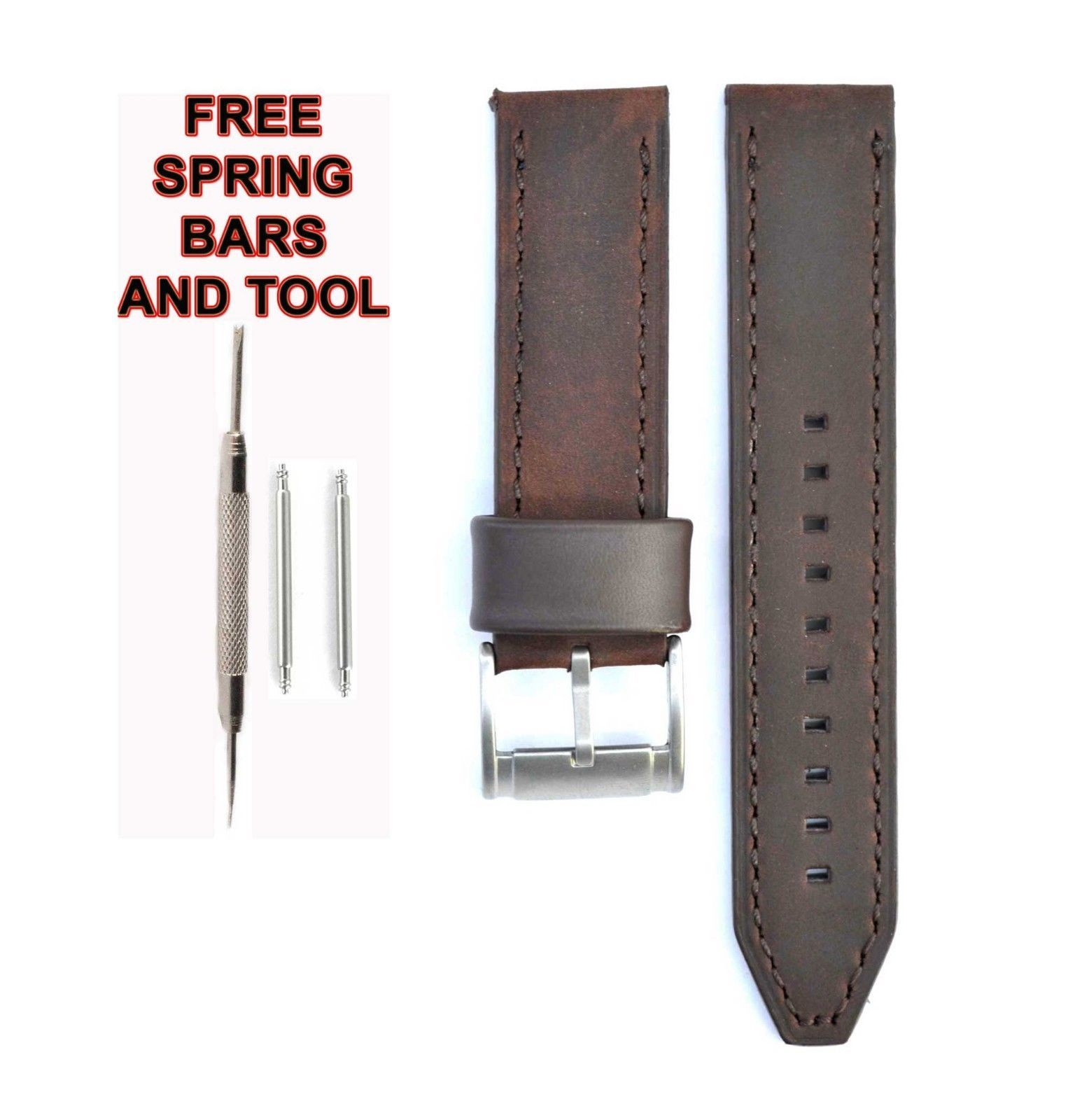 f85cd31ab3d97 Fossil Leather Watch Strap: 103 listings