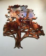 """Cedar Tree Metal Wall Art Decor 8 1/2"""" wide and 10 1/2"""" tall - $19.99"""