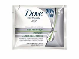 Dove Hair Fall Rescue Shampoo Pouch Each, 20 Pack Free Shipping - $9.89