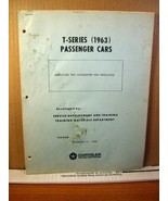 Chrysler Motor Corporation Manual T-Series (1963) Passenger Cars Alternator - $17.99
