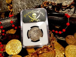 "SPAIN 4 REALES 1612 ""FULL DATE"" NGC VF PIRATE GOLD COINS TREASURE DOUBLO... - $1,900.00"