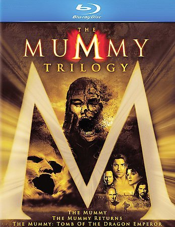 The Mummy Trilogy (Blu-ray Disc, 2008)