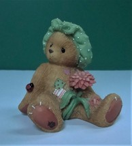 Cherished Teddies Dahlia You're the Best Pick of the Bunch Figurine with... - $6.49