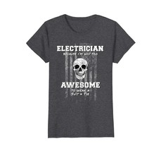 Uncle Shirts -   American Funny Electrician Shirt USA Electrical Wowen - $19.95+