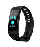 Bluetooth Smart Fitness Bracelet Wristband Blood Pressure Heart Rate Tra... - $35.64