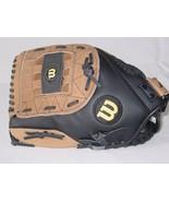 "Wilson A360 Genuine Leather Softball Glove LHT 13"" Over Sized Pocket AO362 ES13 - $21.49"
